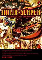 The first cyberpunk ninja action comic