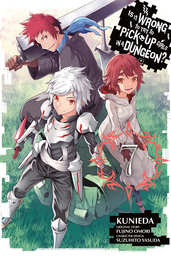 Is It Wrong to Try to Pick Up Girls in a Dungeon? Manga