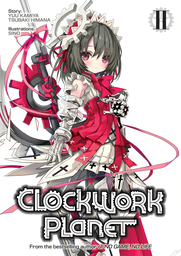 Clockwork Planet Light Novel