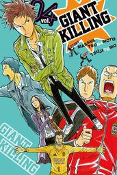 Giant Killing Volume 4