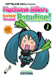 [English Comic] Hachune Miku's Everyday Vocaloid Paradise Vol. 1