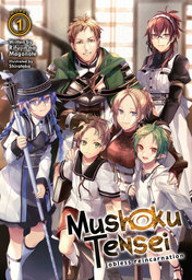 Mushoku Tensei: Jobless Reincarnation Light Novel